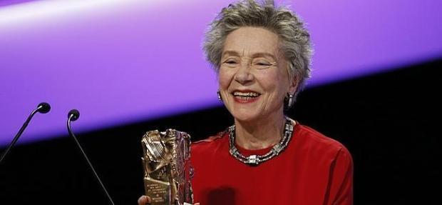 """עמנואל ריבה, בת 86 מחר, זוכה בסזאר על """"אהבה""""."""