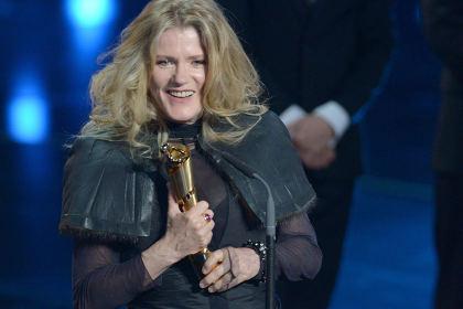 """זאת ברברה סוקובה. היא שיחקה את """"חנה ארנדט"""". היא זכתה בפרס."""