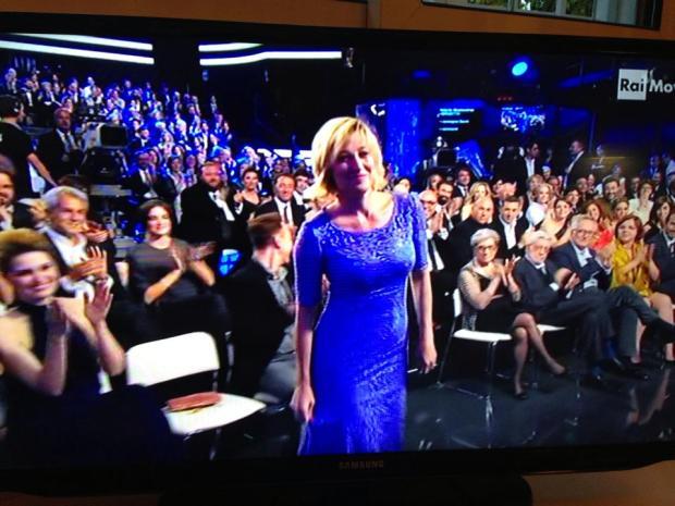 ולריה ברוני טדסקי זוכה בפרס המשחק, הערב. מתוך הפייסבוק הרשמי של הסרט