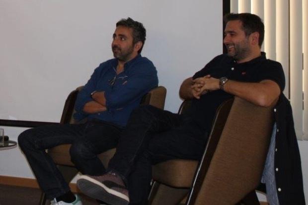 אריק טולדנו ואוליבייה נקש אתמול בתל אביב