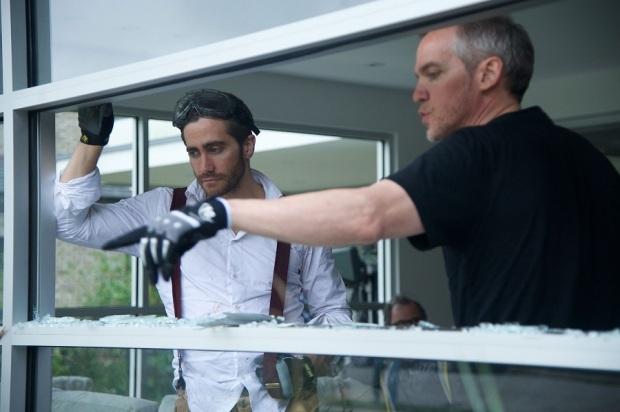 """ז'אן מארק ואלה (מימין) וג'ייק ג'ילנהול על הסרט של """"הרס"""""""